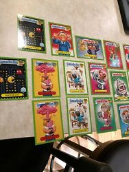 Garbage Pail Kids 30th Anniversary Lot of 50 Green Border Variants Great Cond! $35.00