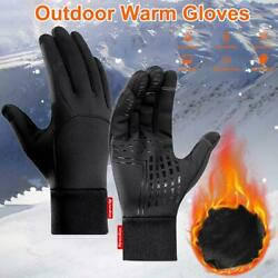 Winter Gloves for Men Women Keep Warm Touch Screen Windproof Cold Weather Gloves $12.99