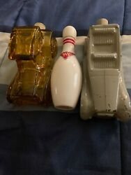 Avon antique cologne bottle set $5.00