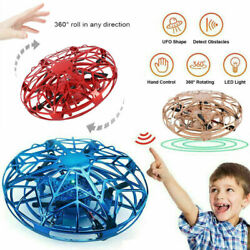 MINI DRONE INFRARED SENSOR UFO FLYING TOY INDUCTION AIRCRAFT QUADCOPTER US SELLR $13.95