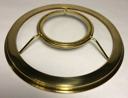 New 7quot; Fitter Solid Brass Shade Ring Holder For No. 2 Brass Plated Burners SR724 $42.90
