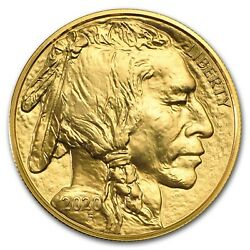 2020 1 oz Gold American Buffalo $50 Coin BU .9999 Fine $1,927.80