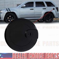 GLOSS BLACK Gas Door COVER For 2005 2006 2007 2008 2009 2010 JEEP GRAND CHEROKEE $16.95