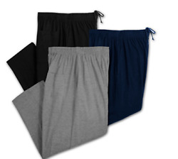 Big amp; Tall Greystone Jersey Knit Elastic Casual Lounge Pants 3X to 10X $33.29