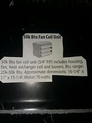 Hanging Garage Heater 50k Btu for hydronic heating systems (outdoor wood boiler) $300.00