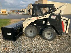 2012 Terex TSV-50 used Bobcat Skid Steer Loader skidsteer snow pusher 952 hrs