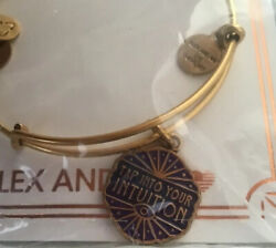 ALEX and ANI Rafaelian Gold Tap into Your Intuition Charm Bangle Bracelet $29.99