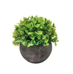Artificial  Potted Mini Plant for DeskOfficeHome Decor-FREE SHIPPING $9.90