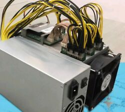 USED Bitmain Antminer S7 Bitcoin  ASIC Miner 4.73TH +110PSU buy one get one free