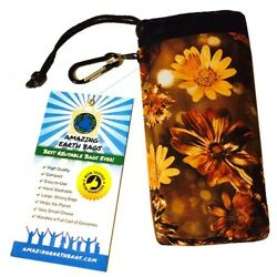 5pcs FOLDABLE WATERPROOF Reusable Shopping Grocery Bags COMPACT FITS IN PURSE!! $12.99