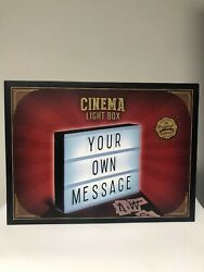 Cinema LED Light Box Letters Numbers & Characters COMPLETE KIT *NEW*  $7.99
