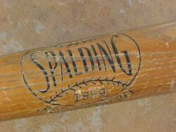 ORIGINAL VINTAGE GEORGE STIRNWEISS YANKEES SPALDING BASEBALL BAT $44.88