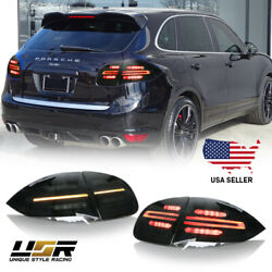 958.2 Facelift Style Full LED SMOKE Rear Tail Light For 2011-2014 Cayenne 958 $699.95
