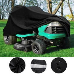 72quot; Outdoor Lawn Mower Tractor Cover Heavy Duty Waterproof UV Protection Coating $18.97