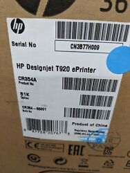 HP DesignJet T920 36 Inkjet CAD CR354A Printer Plotter NEW SEALED w Warranty!✅ $3,499.99