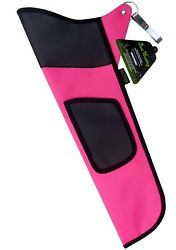 TRADITIONAL FINE FABRIC SIDE HIP ARROW QUIVER ARCHERY PRODUCTS FAQ 111 PINK $9.69