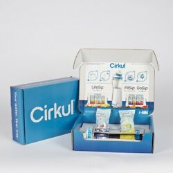 Cirkul Infuser Bottle & Two Flavor Cartridges Fruit Punch and Mixed Berry $12.98