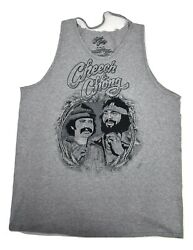 Cheech amp; Chong Womens Cut Out Tank Top Shirt New XL $8.99