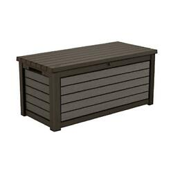 KETER Weatherproof Patio Garden Pool Storage 165 G Resin Outdoor DECK BOX $219.95