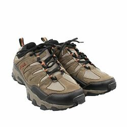 Fila Men#x27;s Outdoor Hiking Trail Running Athletic Shoes Brown Orange $32.95