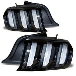 Fits 15-20 S550 Ford Mustang Euro Style LED Tail Lights Sequential Turn Signals $445.99