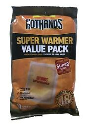 10  New HotHands Body & Hand Super Warmers - Long Lasting Safe Natural Odorless $9.99