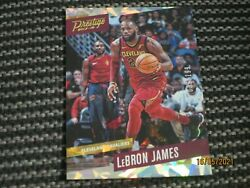 2017 18 17 18 PANINI PRESTIGE LEBRON JAMES CRYSTAL PARALLEL 199 #16 C $90.00