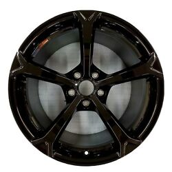 Chevrolet Corvette Z06 Spyder Black Wheel Rim Factory OEM C6 2009-2013 5598 $275.00