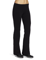 Spalding Women#x27;s Bootleg Yoga Pant Black Large $23.34