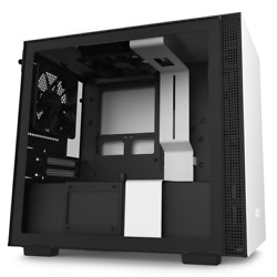 NZXT H210 White Mini ITX Tower Case Tempered Glass Desktop Computer Case $64.99