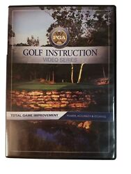 PGA GOLF INSTRUCTION Total Game Improvement: Power Accuracy amp; Scoring DVD $11.99
