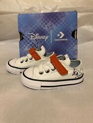 Disney Converse x Frozen 2 Olaf Chuck Taylor All Star Toddlers Size 4c $35.00