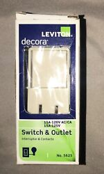 Leviton Switch amp; Outlet Light Almond # 5625