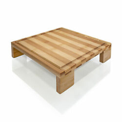 Prosumer's Choice Bamboo Cutting Board and Single Burner Stovetop Cover $11.30