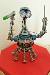Handmade robot created from auto parts $700.00