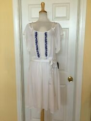 MLLE GABRIELLE embroidered dress size 2X $14.99