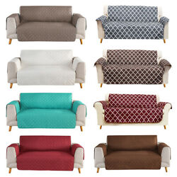 Quilted Sofa Cover Waterproof Nonslip Couch Loveseat Slipcover Pet Protector Mat $21.99