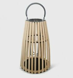 Taper 12quot; Outdoor Lantern Natural 2 Pack $34.99