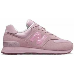 NEW BALANCE WOMEN#x27;S WL574 MYSTIC CRYSTAL SNEAKERS AUTHENTIC SIZE 5 9 $39.00