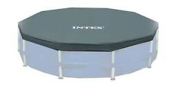 Intex 12 Round Frame Set Easy Swimming Pool Debris Cover  28031E Open Box $52.55