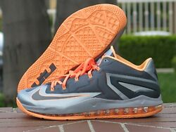 Nike Max Lebron XI Low Men's Basketball Sneakers 642849 002