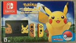 Nintendo Switch Console Let's Go Pikachu! + Poke Ball Plus Edition (IN HAND)  $620.00