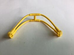 Lego Flexible Rubber Harness Connector Bridle Yellow Lot of 1 $1.99