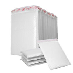 25-200PC Poly Mailer Bubble Mailers Padded Envelopes Self Sealing All Size White $39.99