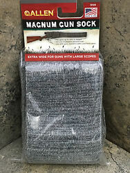 New Allen Oversized Knit Gun Sock 13105 Fits Guns with Large Scopes Made in USA $11.99