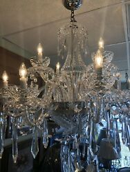 Large Exquisite Waterford Crystal Chandelier