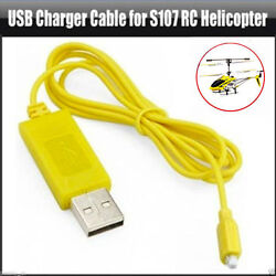 1PC RC Helicopter Syma S107 S105 USB Mini Charger Charging Connector Cable Parts $4.33