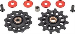 Campagnolo Super Record 12-Speed Derailleur Pulley Set with Screws $58.78