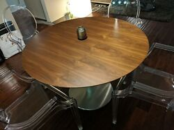 Design Within Reach Zero Walnut Table table only $1988.00
