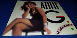 Anne G.  - If She Knew 33RPM 12